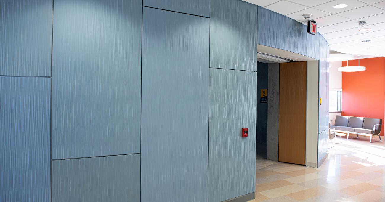 Example of Interior Cladding (Milwaukee, WI)